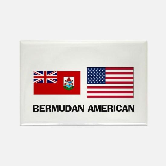 Bermudan American Rectangle Magnet