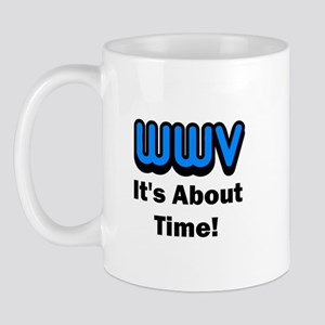 WWV, It's About Time! Mug