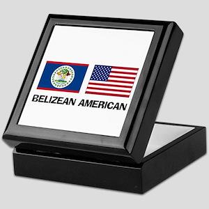 Belizean American Keepsake Box