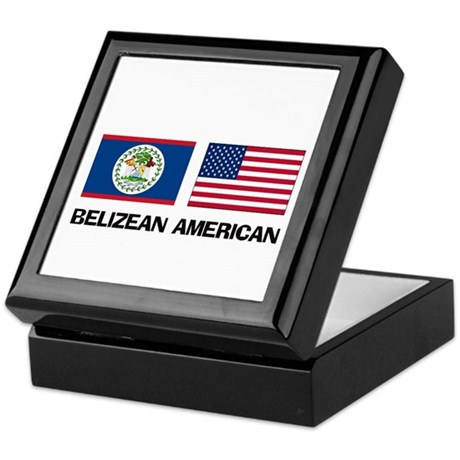 Belizean American Keepsake Box