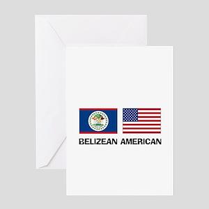 Belizean American Greeting Card