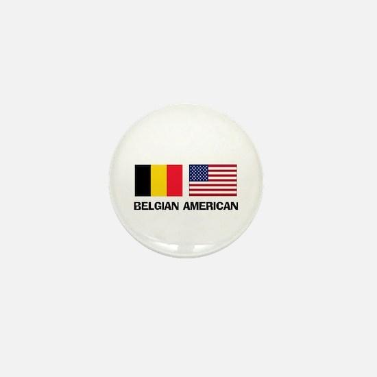 Belgian American Mini Button