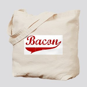 Bacon (red vintage) Tote Bag