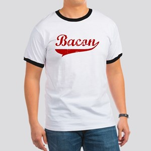 Bacon (red vintage) Ringer T