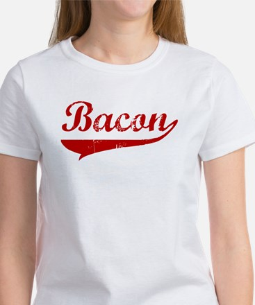 Bacon (red vintage) Women's T-Shirt