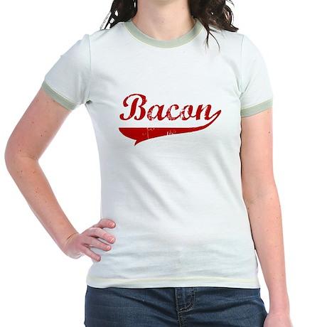 Bacon (red vintage) Jr. Ringer T-Shirt