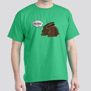 Bunny This Bites Dark T-Shirt
