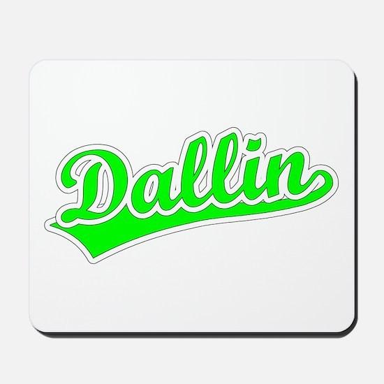 Retro Dallin (Green) Mousepad