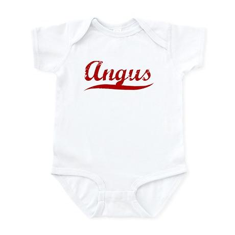 Angus (red vintage) Infant Bodysuit
