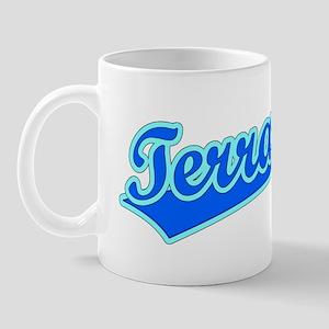 Retro Terrance (Blue) Mug