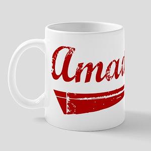 Amador (red vintage) Mug