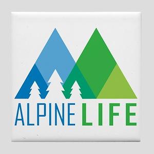 Alpine Life Tile Coaster