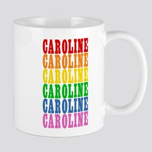 Rainbow Name Large Mugs