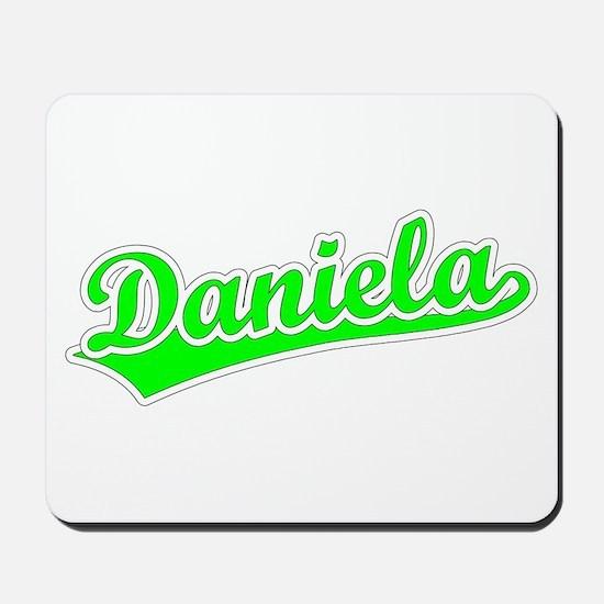 Retro Daniela (Green) Mousepad