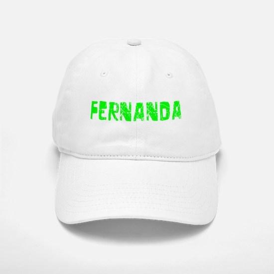 Fernanda Faded (Green) Baseball Baseball Cap