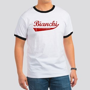 Bianchi (red vintage) Ringer T