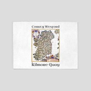 Kilmore Quay Co Wexford Ireland 5'x7'Area Rug
