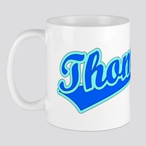 Retro Thomas (Blue) Mug