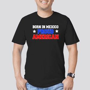 Born In Mexico Proud American T-Shirt