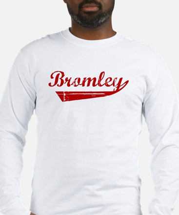 Bromley (red vintage) Long Sleeve T-Shirt