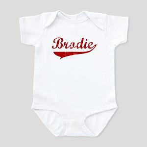 Brodie (red vintage) Infant Bodysuit
