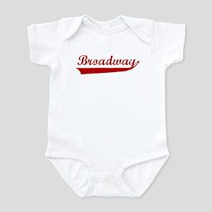 Broadway (red vintage) Infant Bodysuit