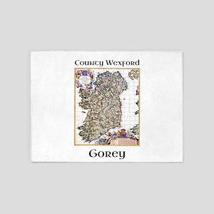 Gorey Co Wexford Ireland 5'x7'Area Rug
