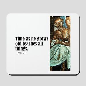 """Aeschylus """"Time"""" Mousepad"""