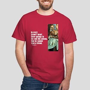 "Aeschylus ""Tyrant's Heart"" Dark T-Shirt"