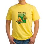 Eat. Sleep. Camp Yellow T-Shirt