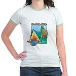 Eat. Sleep. Camp Jr. Ringer T-Shirt