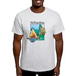Eat. Sleep. Camp Light T-Shirt