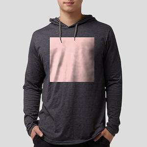 girly pastel blush pink Long Sleeve T-Shirt