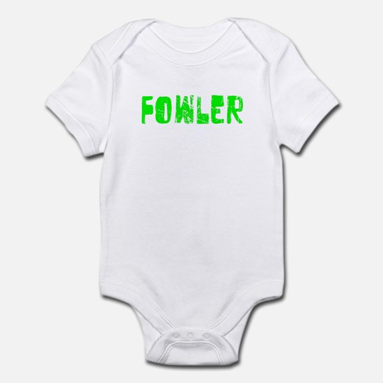 Fowler Faded (Green) Infant Bodysuit