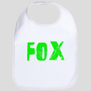 Fox Faded (Green) Bib