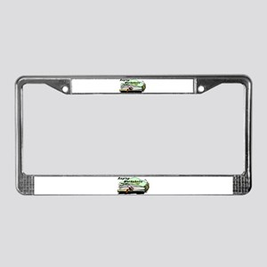 Raging Workaholic License Plate Frame