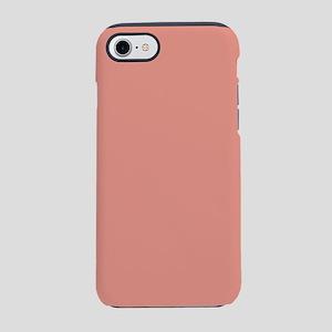 orange coral pink peach iPhone 8/7 Tough Case