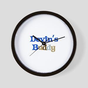 Devin's Buddy Wall Clock