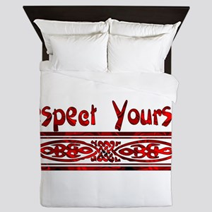 Respect Yourself Queen Duvet