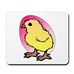 Easter Art Chick Mousepad