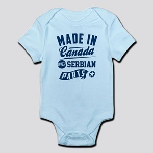 made in canada with serbian parts Body Suit