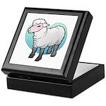 Easter Art Lamb Keepsake Box