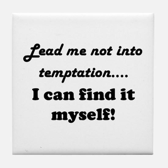 Temptation Tile Coaster