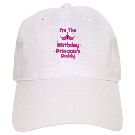 1st Birthday Princess's Daddy Cap