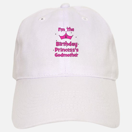 1st Birthday Princess's Godmo Baseball Baseball Cap