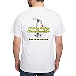 IV Pole Racing Championships White T-Shirt