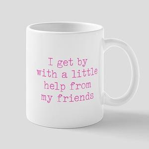 A Little Help - Friends Mugs