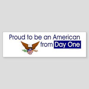 American Pride Sticker (Bumper)