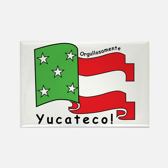 Cute Mexican flag Rectangle Magnet