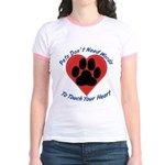 Touch Your Heart Jr. Ringer T-Shirt